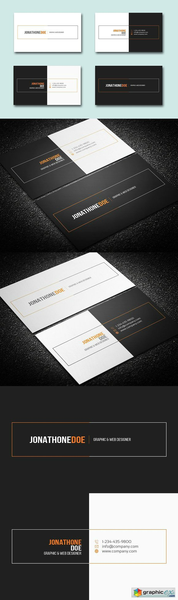 Clean Business Card 1266739
