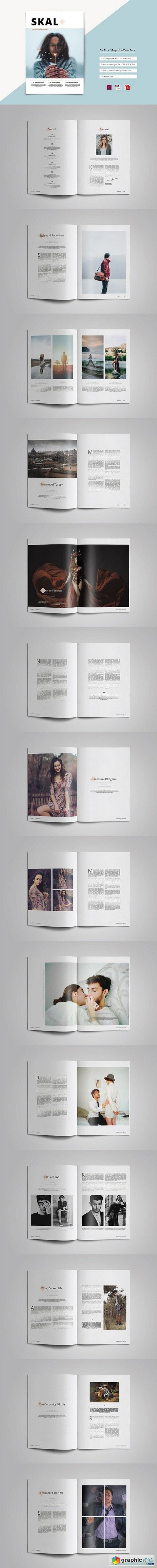 SKAL + Magazine Template