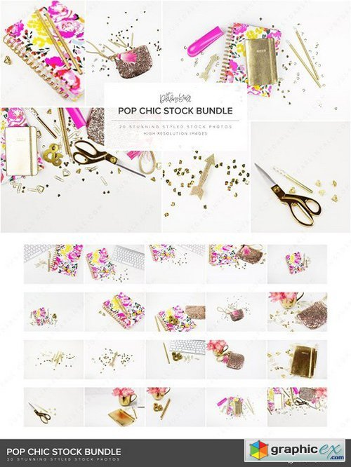 Pop Chic Styled Stock Bundle HM