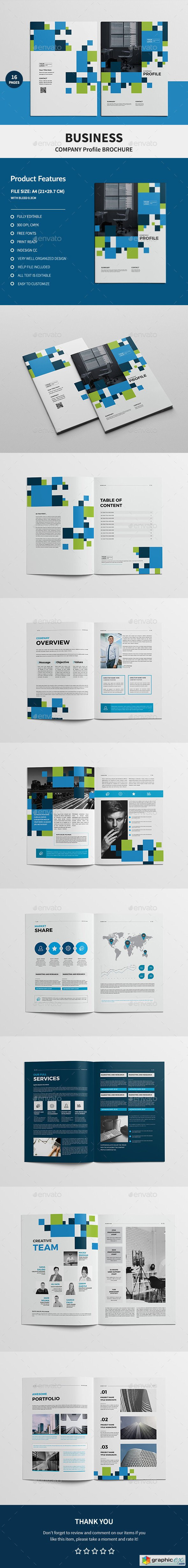 Business Company Profile Brochure