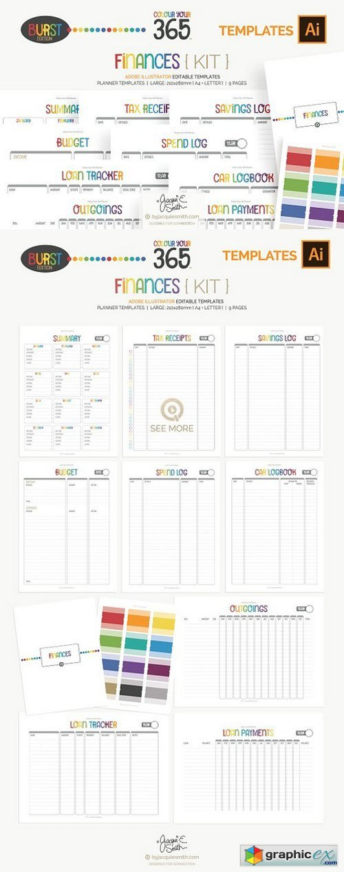 CY365 Finances Planner Templates