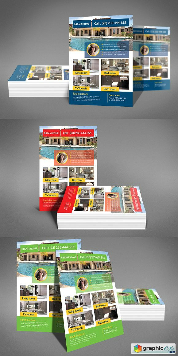 Dream Home Real Estate Flyer