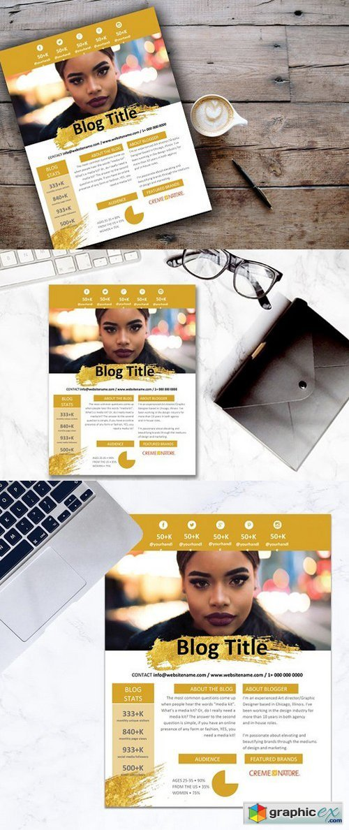 Gold Splash Media Kit - 2