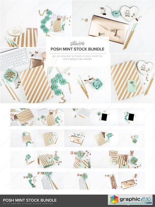 Posh Mint Styled Stock HM