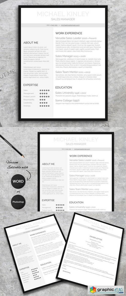 Resume + FREE Cover Letter