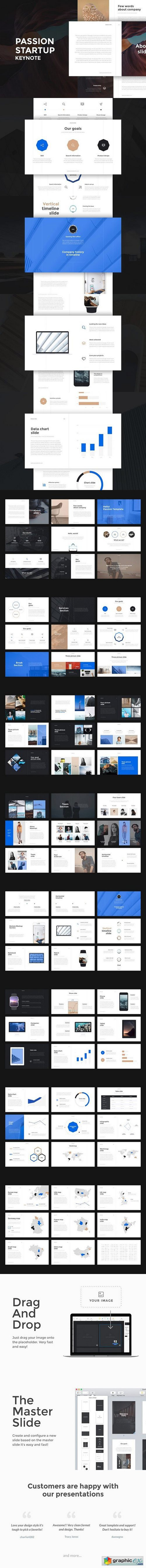 Passion Keynote Template + GIFT