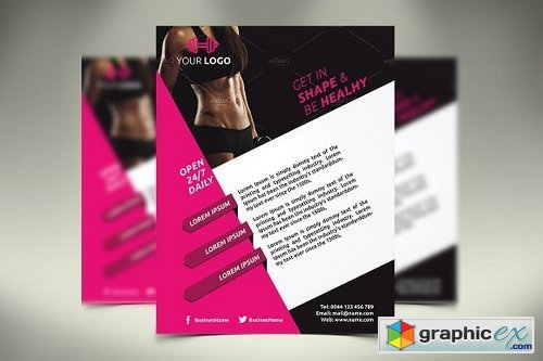 Fitness Flyer / Gym Flyer 1423104