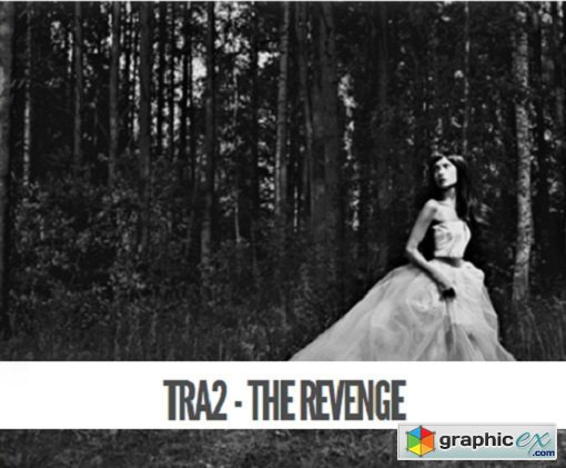 Totally Rad - TRA2 - The Revenge Photoshop Actions