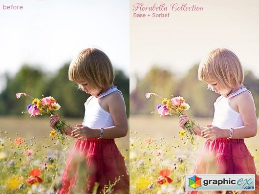 Florabella Collection - COLORPLAY Photoshop Actions