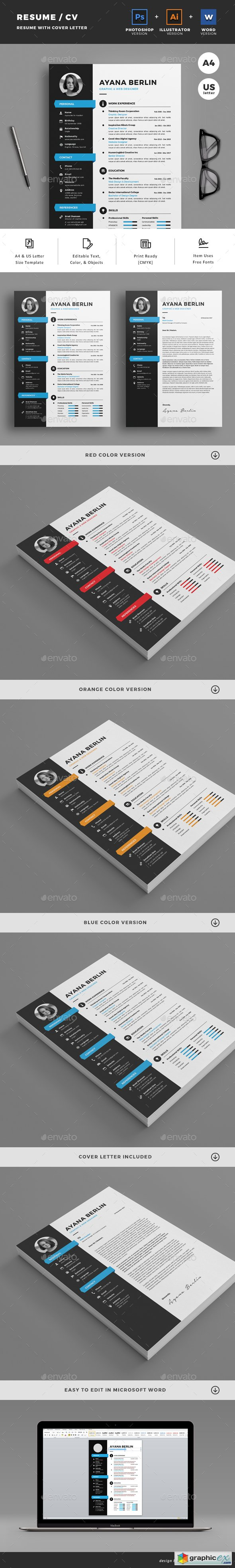 Graphicriver Resume 19823273