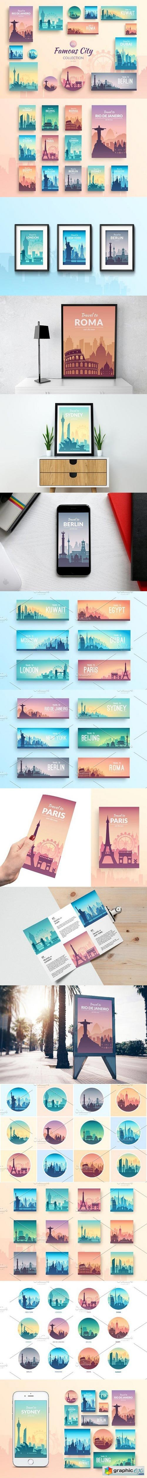Famous Cities Collection