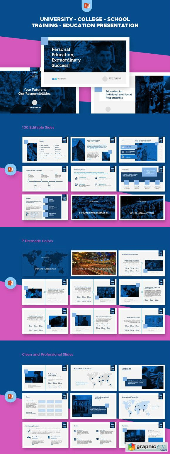 Free Download Education PowerPoint Presentation Templates