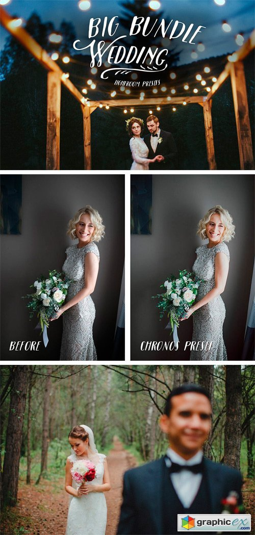 Wedding Lightroom Presets Bundle