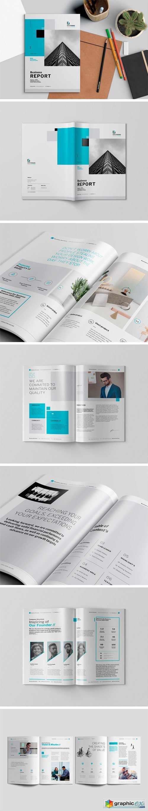 Business Report Template 1480538