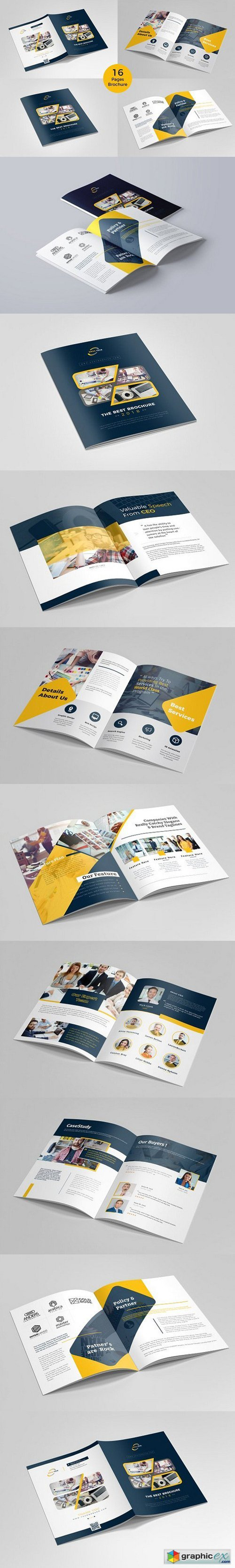 Brochure Template - 16 pages