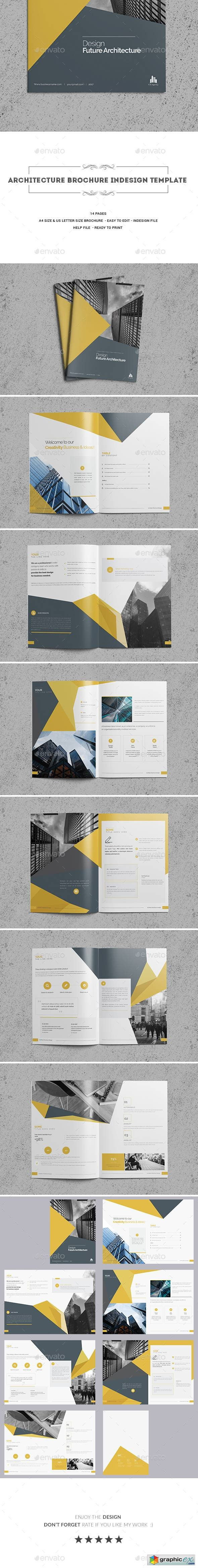 Architecture Brochure Indesign Template