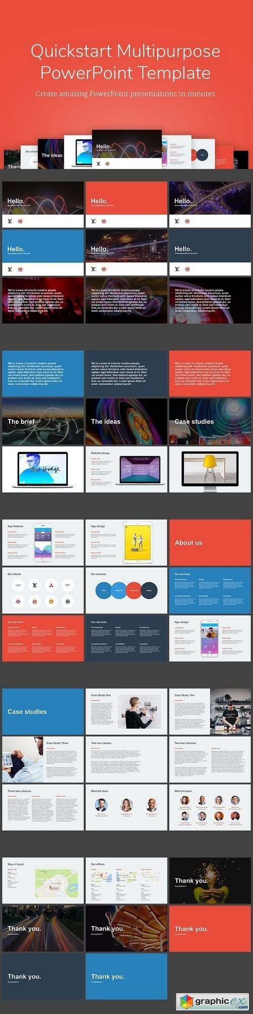 Amazing Powerpoint Templates Free