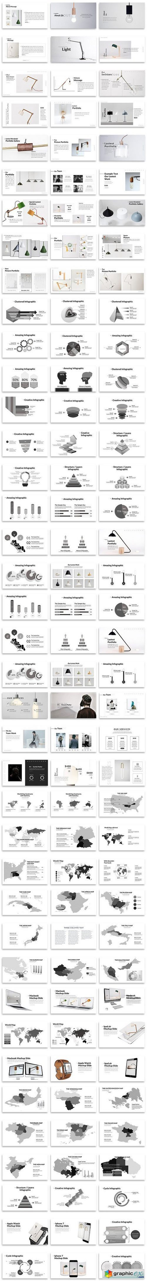 Light Creative Google Slide Template