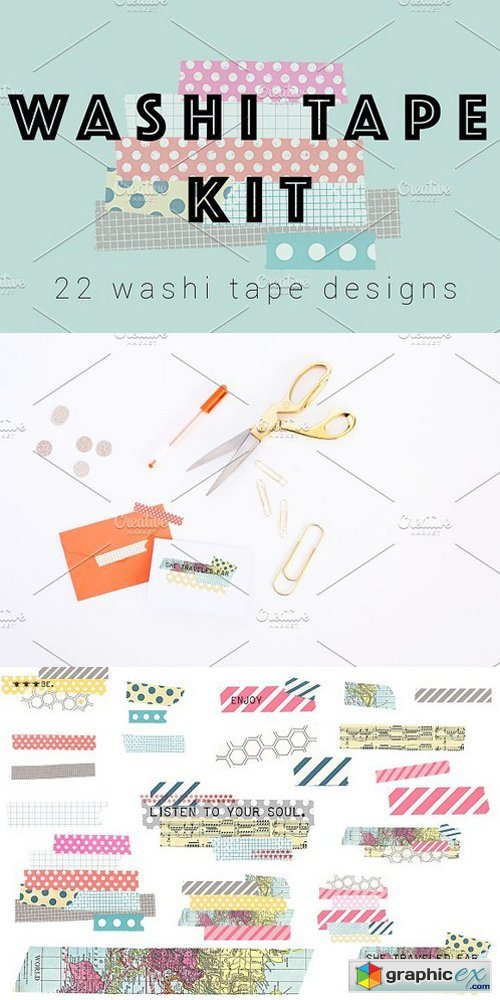 Washi Tape Kit