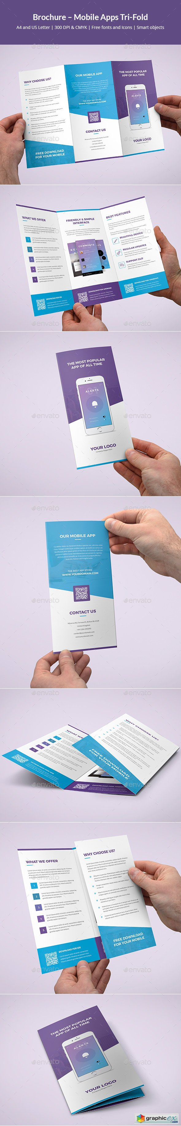 Brochure – Mobile Apps Tri-Fold