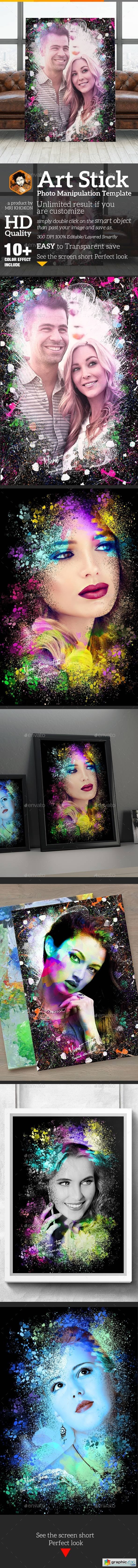 Artistic Photo Manipulation Template 19901555