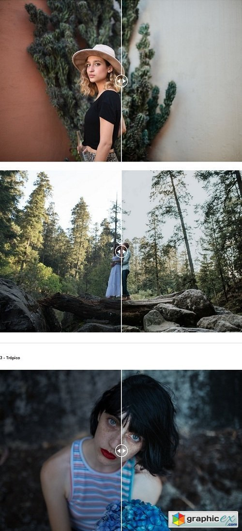G&S - La Tierra - Lightroom presets » Free Download Vector Stock