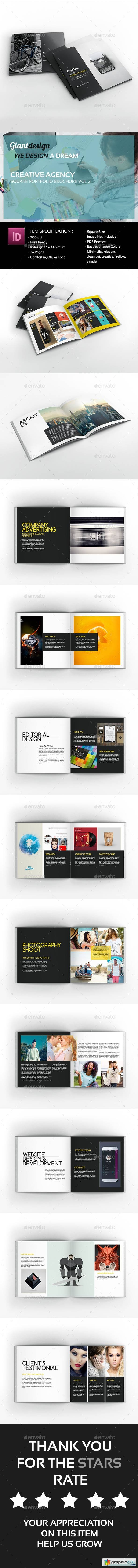 Creative Agency - Square Portfolio Brochure 20209482