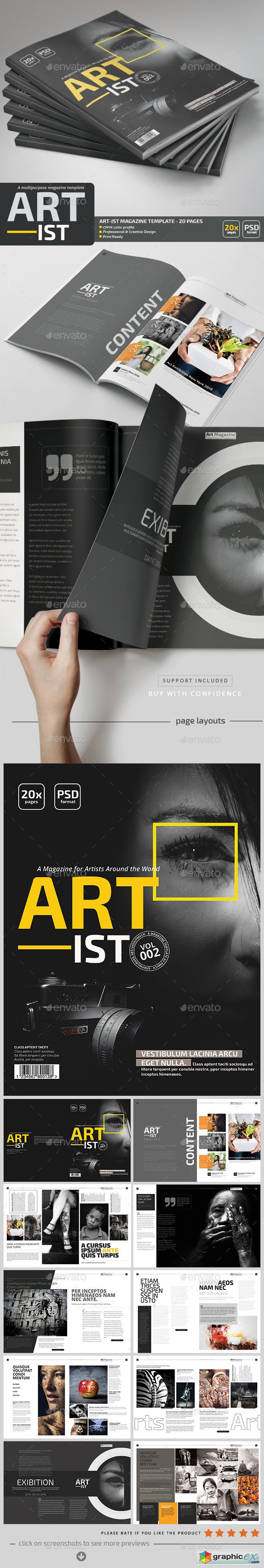 Art-ist Magazine Template V.2