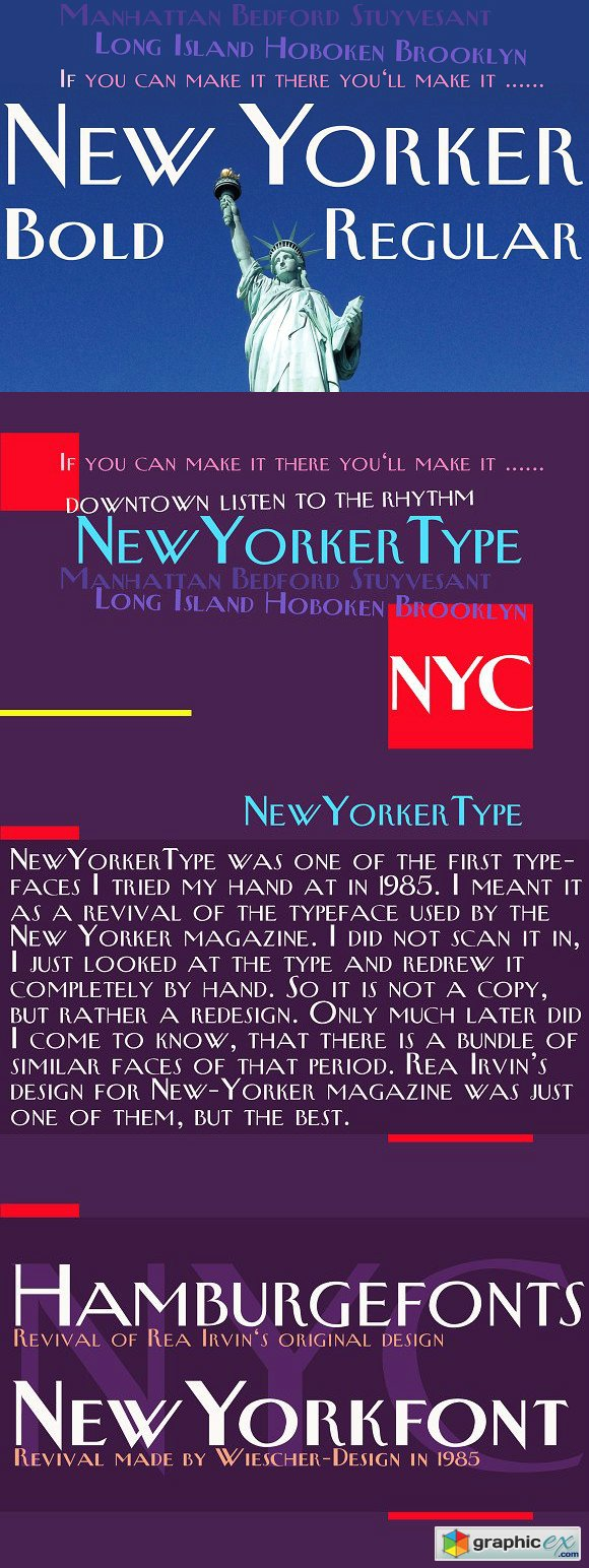 New Yorker Type Font