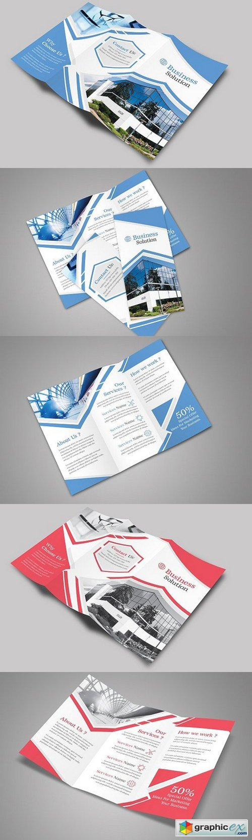Corporate TriFold Brochure 1544375