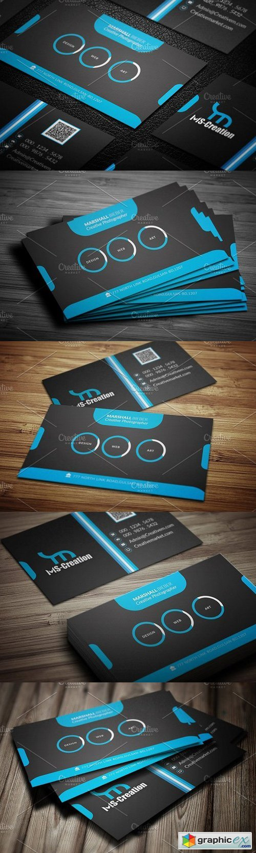 Professional Business Card 1544364