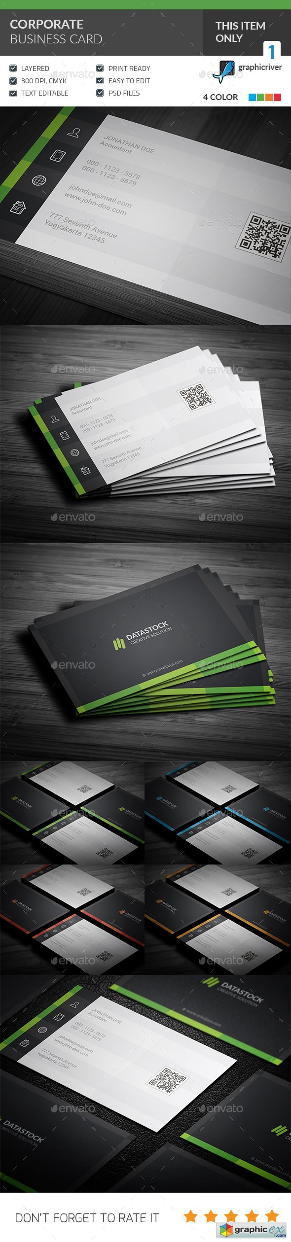 Corporate Business Card 20167875