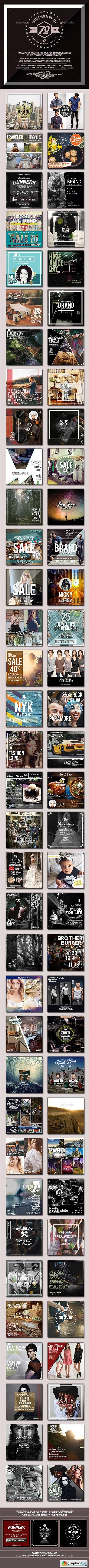 70 Instagram Templates 14092315
