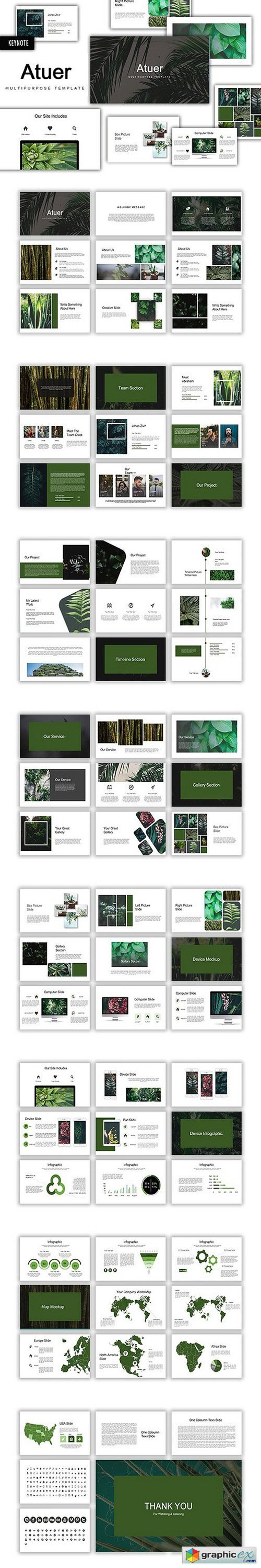 Atuer Keynote Template