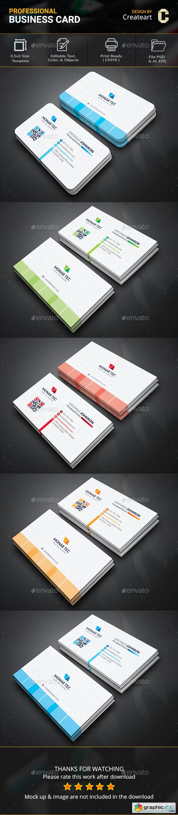 Graphicriver Business Card 20063545