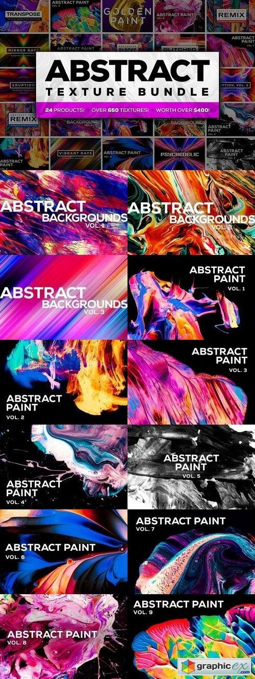 Abstract Texture Bundle (75% off)