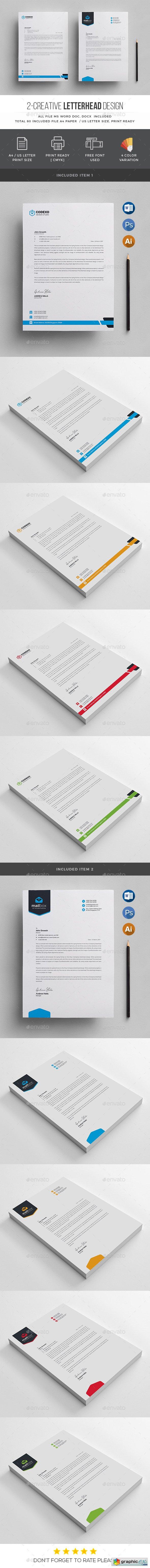 Graphicriver Letterhead