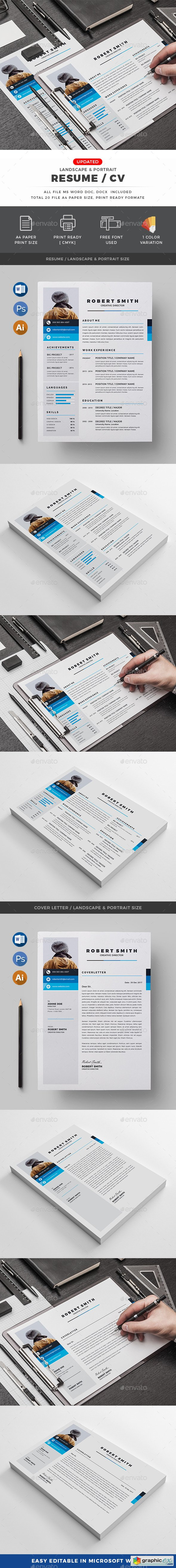 Graphicriver CV
