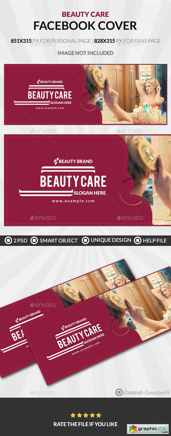 Beauty Care Facebook Cover 20179162