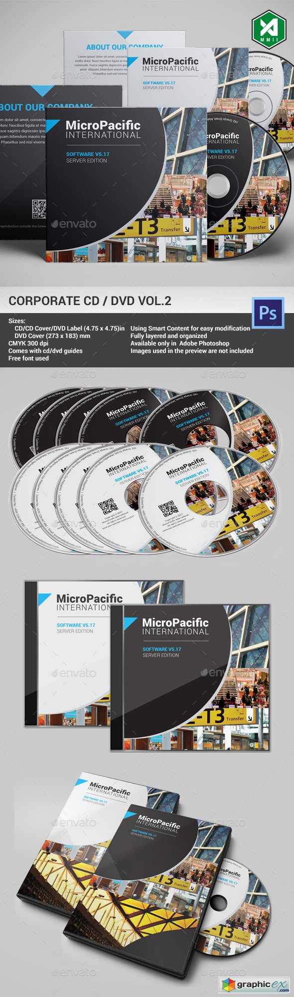 Corporate CD DVD Template Vol.2
