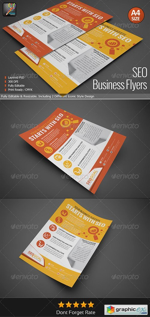 SEO Business Flyers