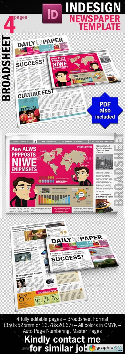 DailyPaper :: Newspaper Template
