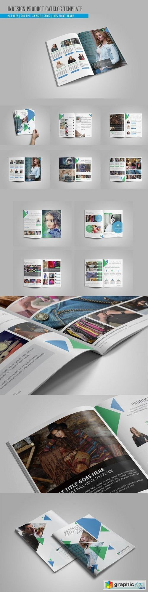 Indesign Product Catelog Template