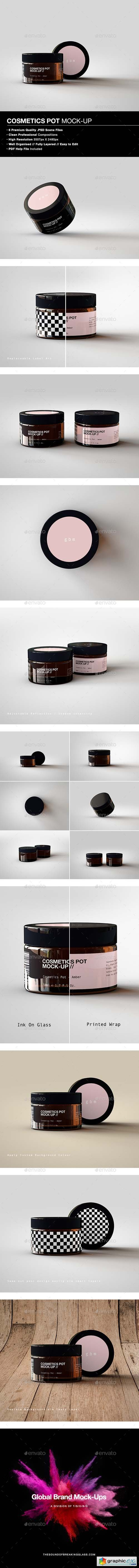 Cosmetic Pot Mock-Up 1
