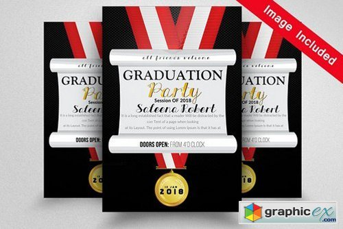 Graduation Announcement Template 1595390