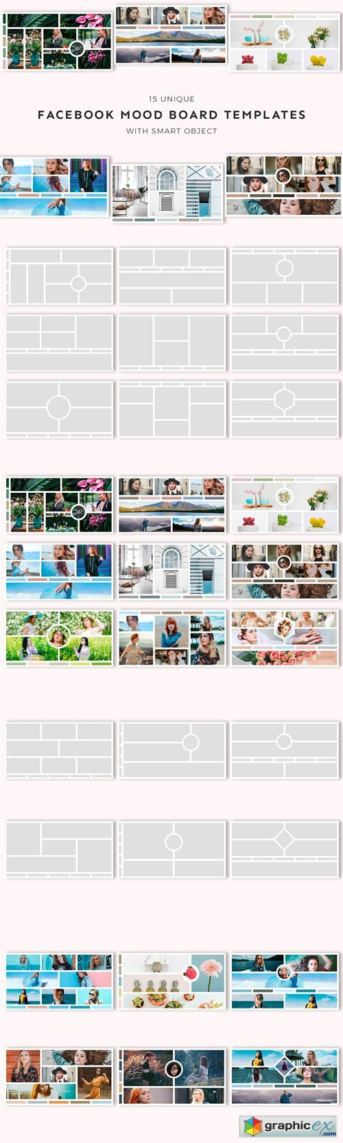 15 Facebook Mood Board Templates