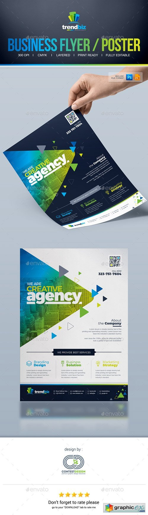 Corporate Business Flyer / Poster Advertising Template