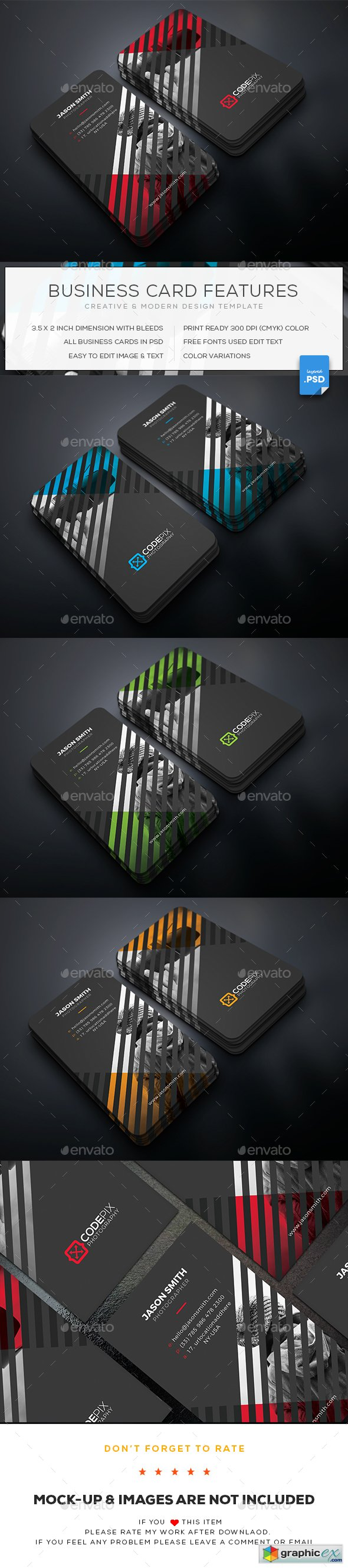 Photography Business Card 20217576