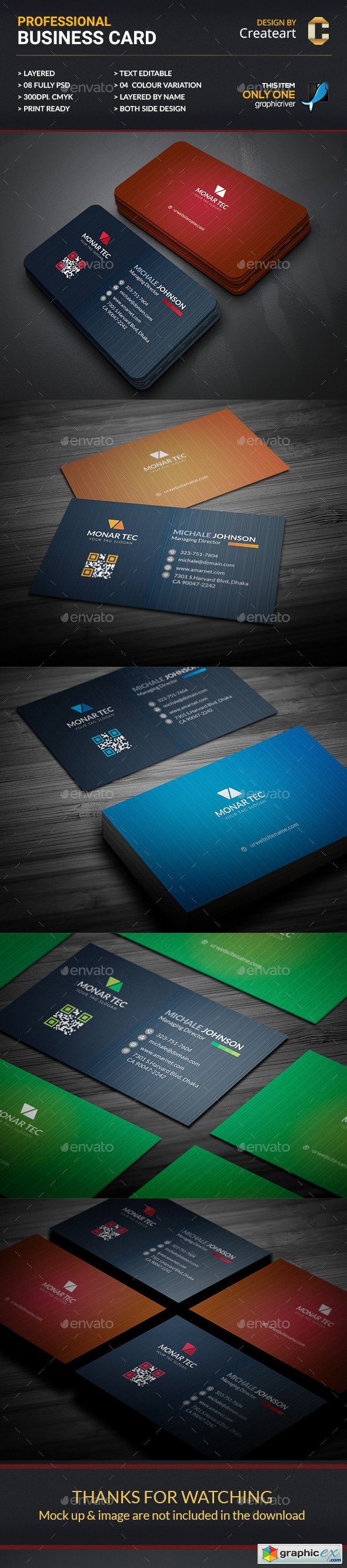 Corporate Business Card 20216965