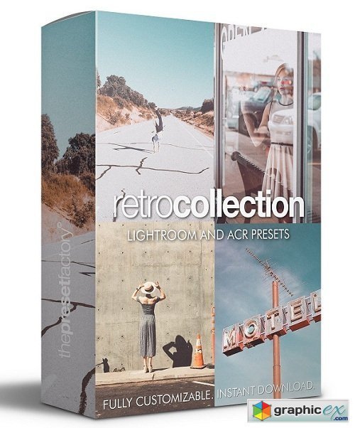 the preset factory retro collection lightroom presets